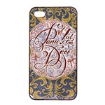 Panic! At The Disco Apple iPhone 4/4s Seamless Case (Black) Front