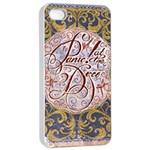 Panic! At The Disco Apple iPhone 4/4s Seamless Case (White) Front