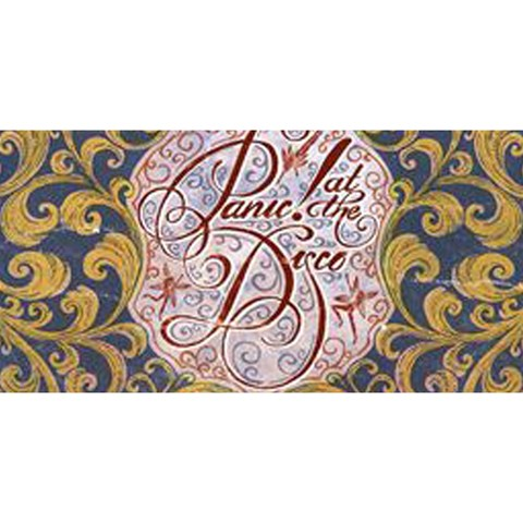 Panic! At The Disco YOU ARE INVITED 3D Greeting Card (8x4)