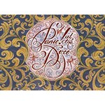 Panic! At The Disco Apple 3D Greeting Card (7x5) Back