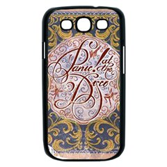 Panic! At The Disco Samsung Galaxy S III Case (Black)