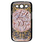 Panic! At The Disco Samsung Galaxy S III Case (Black) Front