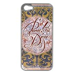 Panic! At The Disco Apple iPhone 5 Case (Silver) Front