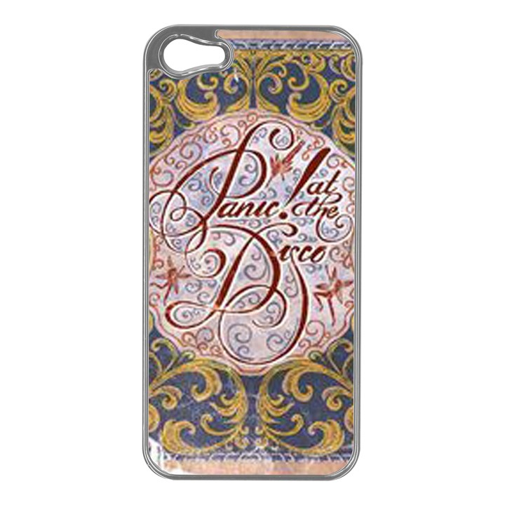 Panic! At The Disco Apple iPhone 5 Case (Silver)