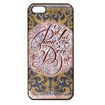 Panic! At The Disco Apple iPhone 5 Seamless Case (Black) Front