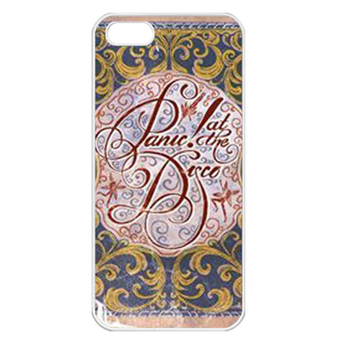 Panic! At The Disco Apple iPhone 5 Seamless Case (White)