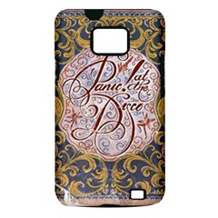 Panic! At The Disco Samsung Galaxy S II i9100 Hardshell Case (PC+Silicone)