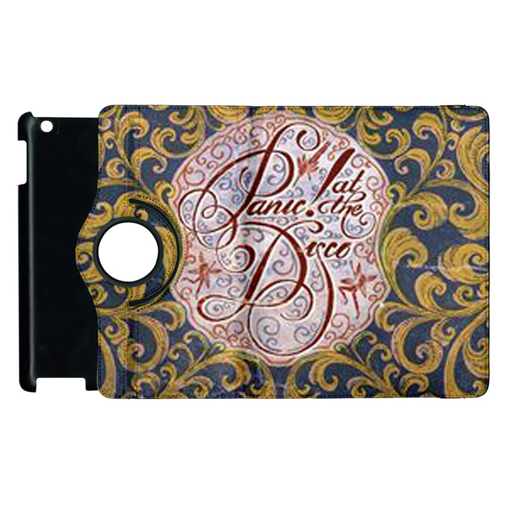 Panic! At The Disco Apple iPad 2 Flip 360 Case