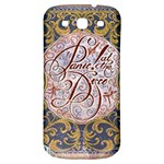 Panic! At The Disco Samsung Galaxy S3 S III Classic Hardshell Back Case Front