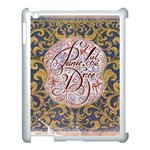 Panic! At The Disco Apple iPad 3/4 Case (White) Front