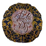 Panic! At The Disco Large 18  Premium Round Cushions Back