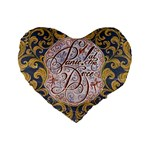 Panic! At The Disco Standard 16  Premium Heart Shape Cushions Front
