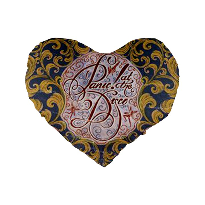 Panic! At The Disco Standard 16  Premium Heart Shape Cushions