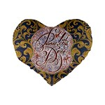 Panic! At The Disco Standard 16  Premium Heart Shape Cushions Back