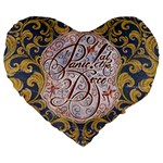 Panic! At The Disco Large 19  Premium Heart Shape Cushions Front