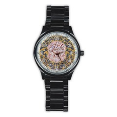 Panic! At The Disco Stainless Steel Round Watch