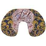 Panic! At The Disco Travel Neck Pillows Back