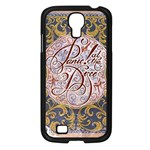 Panic! At The Disco Samsung Galaxy S4 I9500/ I9505 Case (Black) Front
