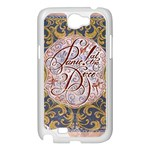 Panic! At The Disco Samsung Galaxy Note 2 Case (White) Front