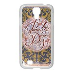 Panic! At The Disco Samsung GALAXY S4 I9500/ I9505 Case (White) Front