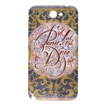 Panic! At The Disco Samsung Note 2 N7100 Hardshell Back Case Front