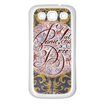 Panic! At The Disco Samsung Galaxy S3 Back Case (White) Front