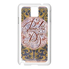 Panic! At The Disco Samsung Galaxy Note 3 N9005 Case (White)