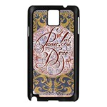 Panic! At The Disco Samsung Galaxy Note 3 N9005 Case (Black) Front