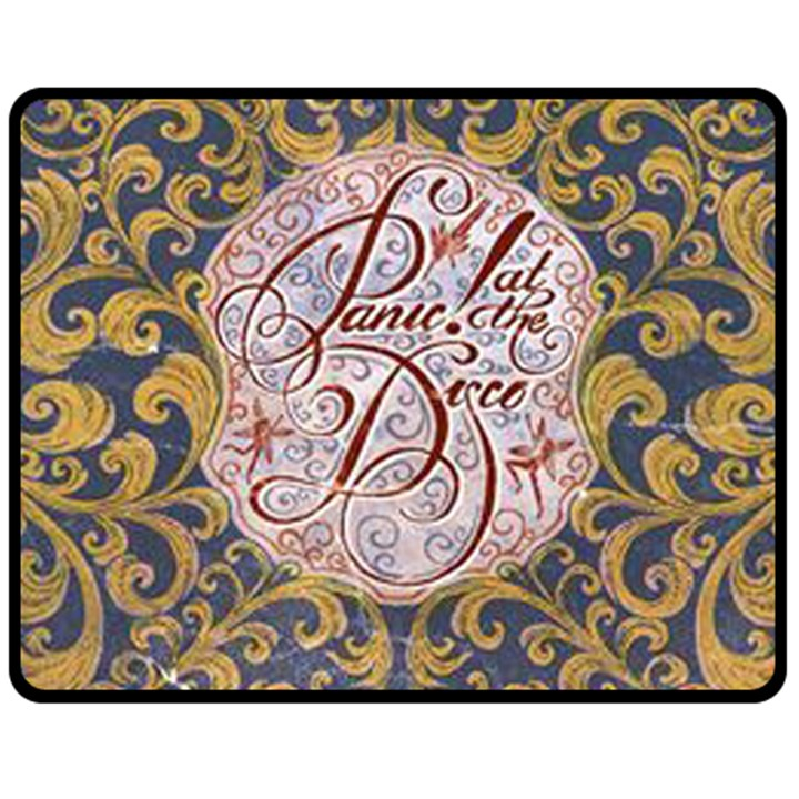 Panic! At The Disco Double Sided Fleece Blanket (Medium)