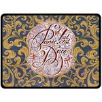 Panic! At The Disco Double Sided Fleece Blanket (Large)  80 x60 Blanket Back