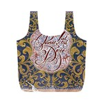 Panic! At The Disco Full Print Recycle Bags (M)  Back