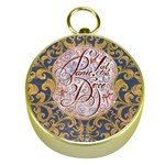 Panic! At The Disco Gold Compasses Front