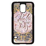 Panic! At The Disco Samsung Galaxy S5 Case (Black) Front