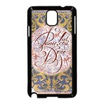 Panic! At The Disco Samsung Galaxy Note 3 Neo Hardshell Case (Black) Front