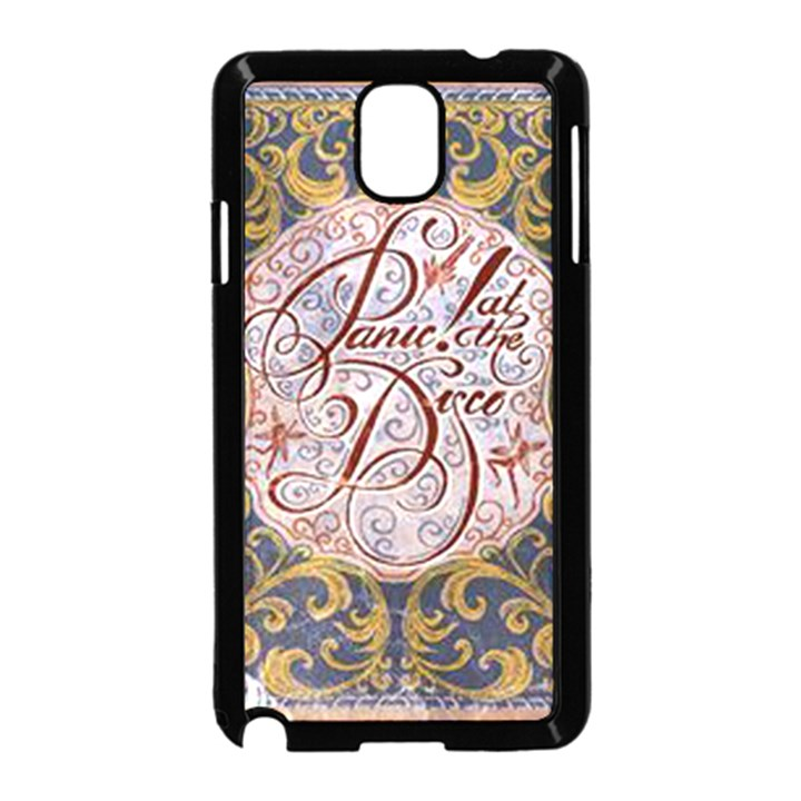 Panic! At The Disco Samsung Galaxy Note 3 Neo Hardshell Case (Black)