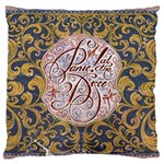 Panic! At The Disco Large Flano Cushion Case (Two Sides) Back