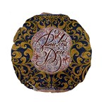 Panic! At The Disco Standard 15  Premium Flano Round Cushions Front
