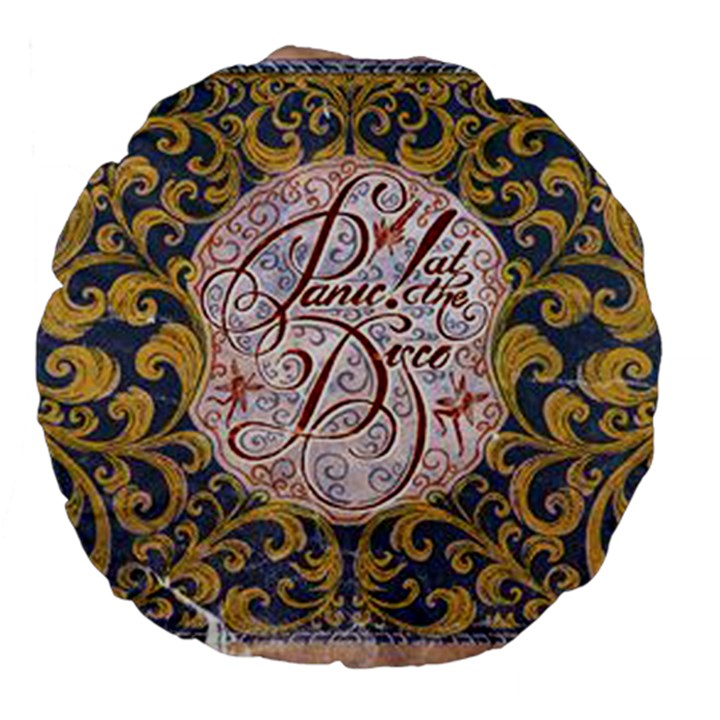Panic! At The Disco Large 18  Premium Flano Round Cushions