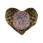 Panic! At The Disco Standard 16  Premium Flano Heart Shape Cushions Front