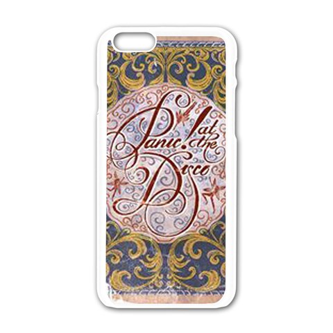 Panic! At The Disco Apple iPhone 6/6S White Enamel Case