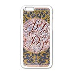 Panic! At The Disco Apple iPhone 6/6S White Enamel Case Front