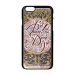 Panic! At The Disco Apple iPhone 6/6S Black Enamel Case Front