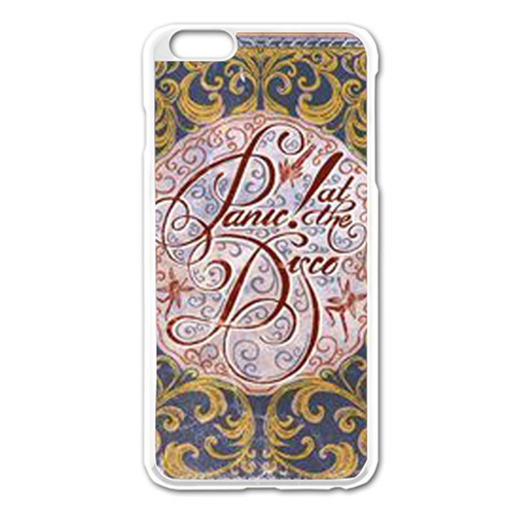 Panic! At The Disco Apple iPhone 6 Plus/6S Plus Enamel White Case