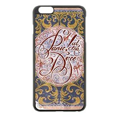 Panic! At The Disco Apple iPhone 6 Plus/6S Plus Black Enamel Case