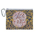 Panic! At The Disco Canvas Cosmetic Bag (L) Front