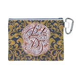 Panic! At The Disco Canvas Cosmetic Bag (L) Back