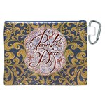 Panic! At The Disco Canvas Cosmetic Bag (XXL) Back