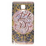 Panic! At The Disco Galaxy Note 4 Back Case Front