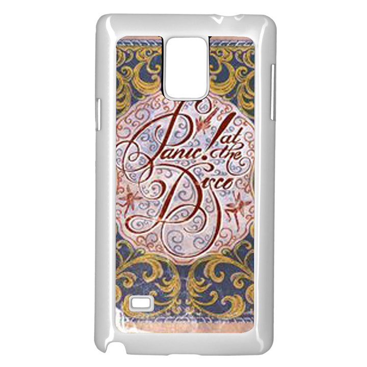 Panic! At The Disco Samsung Galaxy Note 4 Case (White)