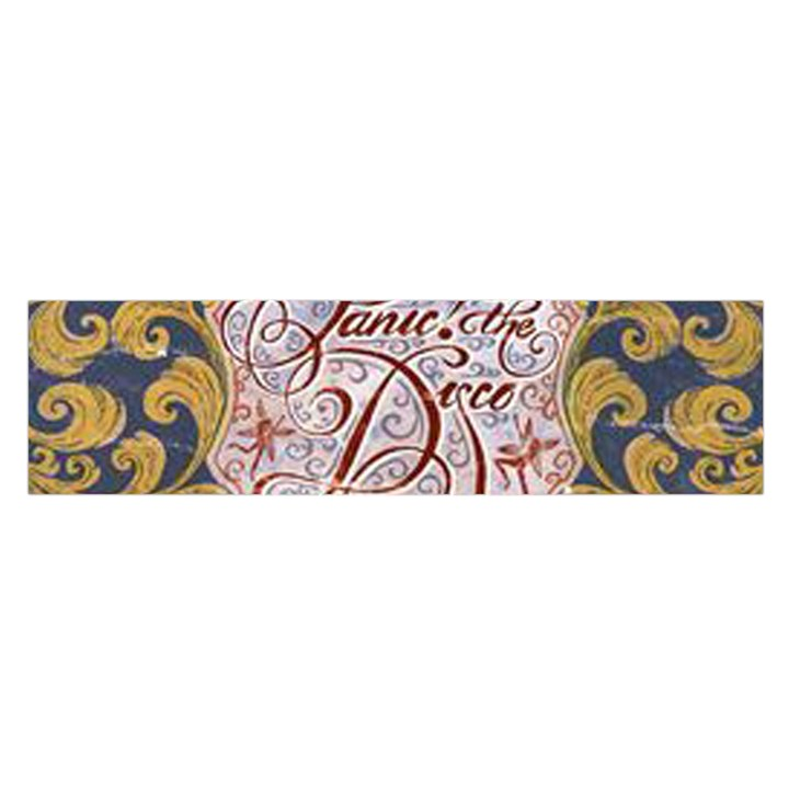 Panic! At The Disco Satin Scarf (Oblong)